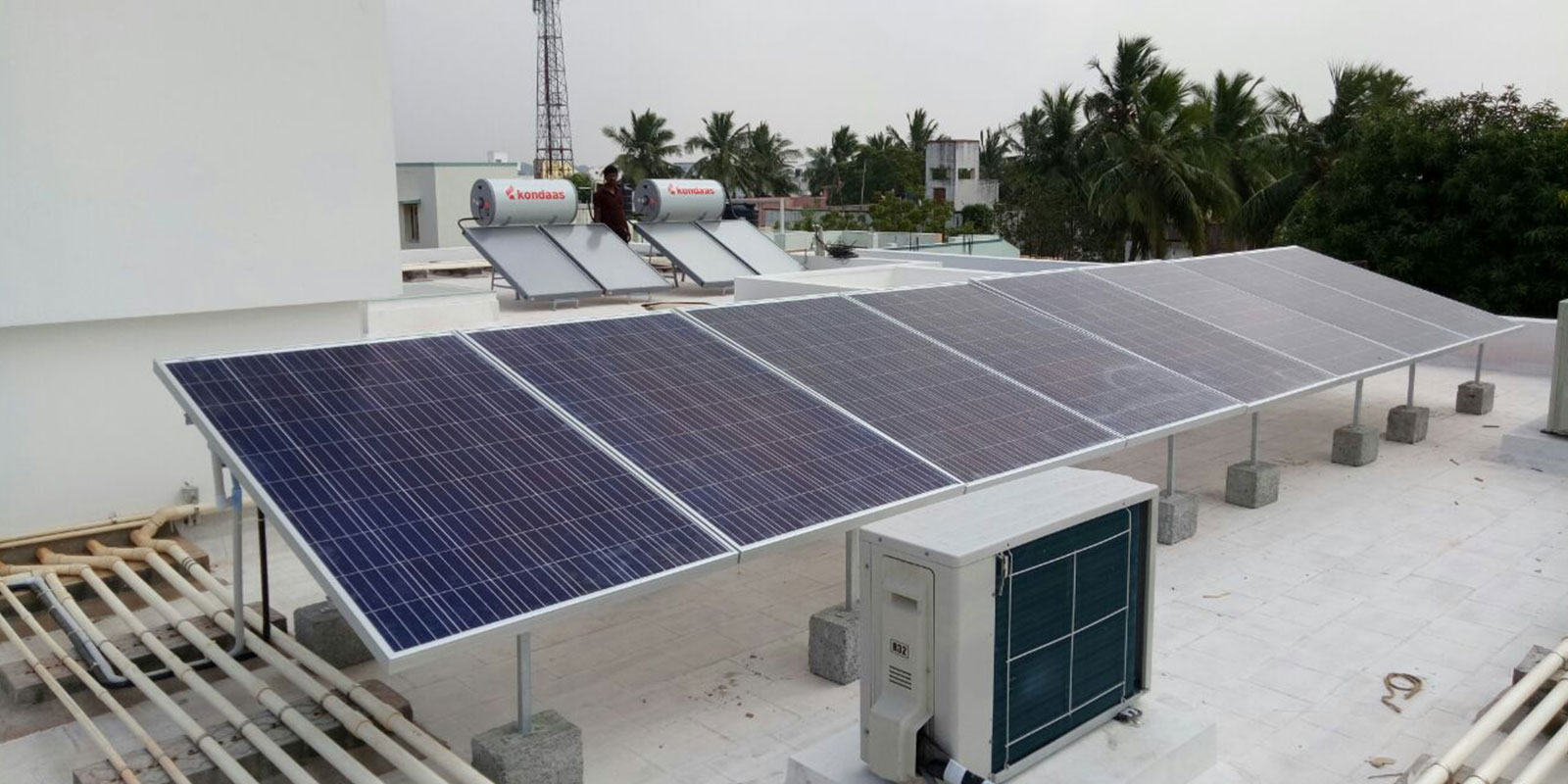 1kw 10kw Off Grid Solar Power Plant Price With Subsidy Coimbatore Panel System Wiring Diagram Offgrid Systems Chennai Tamil Nadu